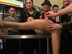 Alina Li - Sweet Asian bitch fucked and humiliated in a corner store