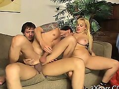 Great bisexual porn scene