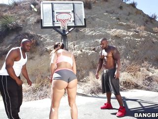 lisa goes for some two on one
