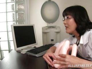 the doctor will teach the cute nurses