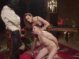 slave boy sucks cock for mistress