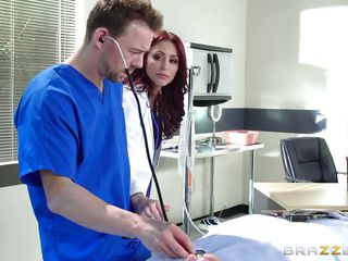 male nurse fucking appealing doctor from behind