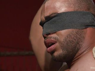 muscled black stud gets bonded