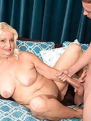 Her Daughter Just Fucked This Guy. Now Vikki's Going To Fuck Him.
