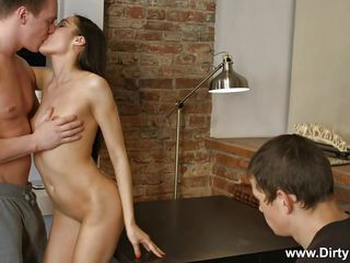 he watches his wife get drilled by a better man