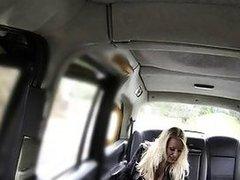 Huge tits pornstar rimming cab driver