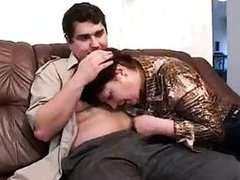 Russian Mother I'd like to fuck And Adolescent Lover