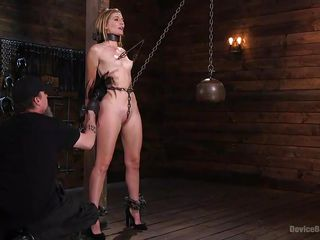 mona's fur pie is punished in the bdsm playroom