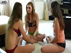 Lexi Bell Jessie Andrews & Allie Haze