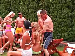 Outdoor Party Orgy