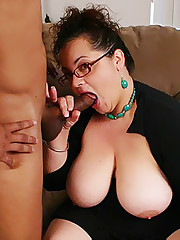 Black Penis Impaled BBW